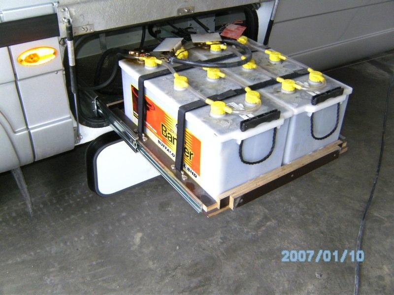 Batterieffach
