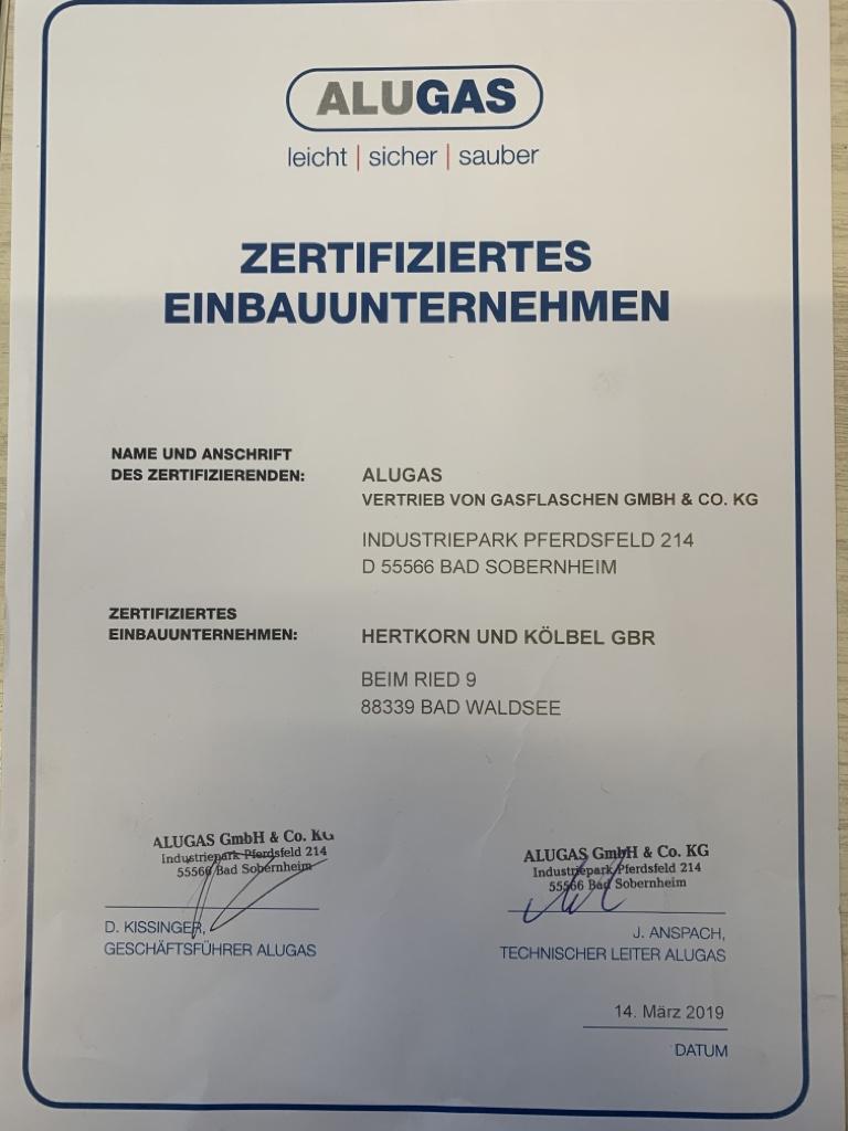 Zertifikat