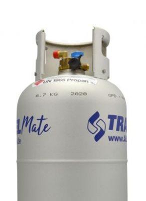 Alugas Tankflasche mit Multiventil